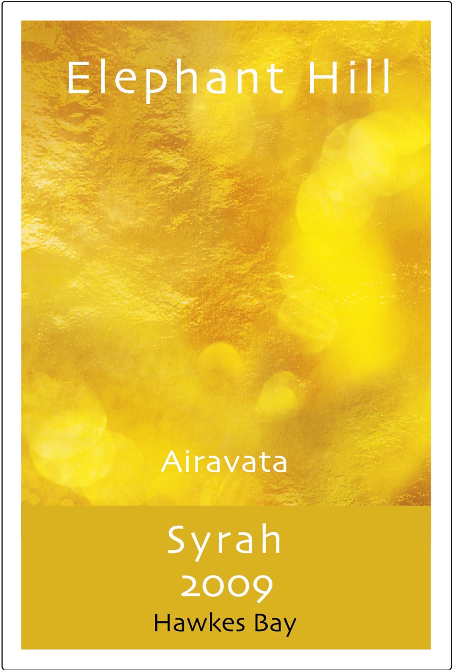 象山酒庄神象埃拉瓦塔红葡萄酒Elephant Hill Airavata Syrah