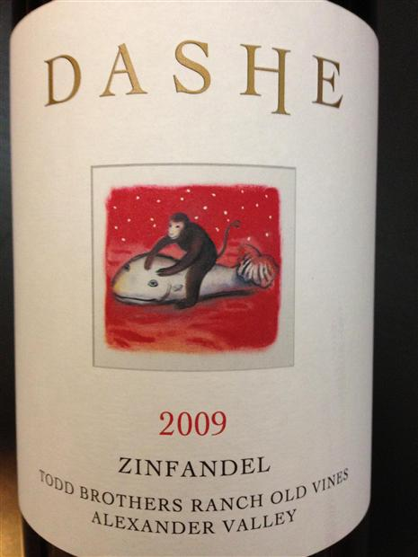 黛什仙粉黛干红Dashe Cellars Zinfandel