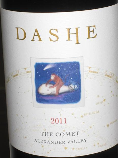 "黛什""彗星""干红Dashe Cellars The COMET"