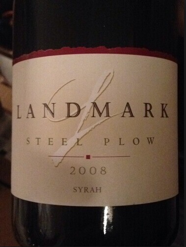 地标钢犁西拉干红Landmark Steel Plow Syrah