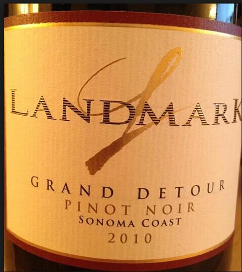 地标格兰德图黑皮诺干红Landmark Grand Detour Pinot Noir