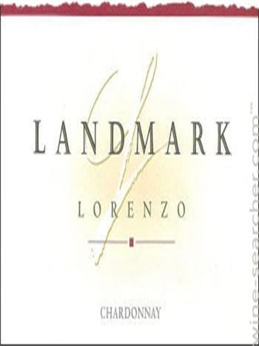 地标洛伦佐霞多丽干白Landmark Lorenzo Chardonnay