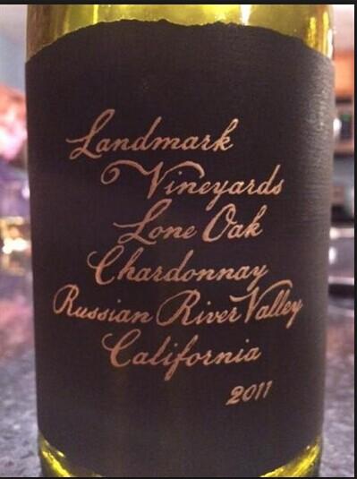 地标孤独橡树霞多丽干白Landmark Lone Oak Chardonnay