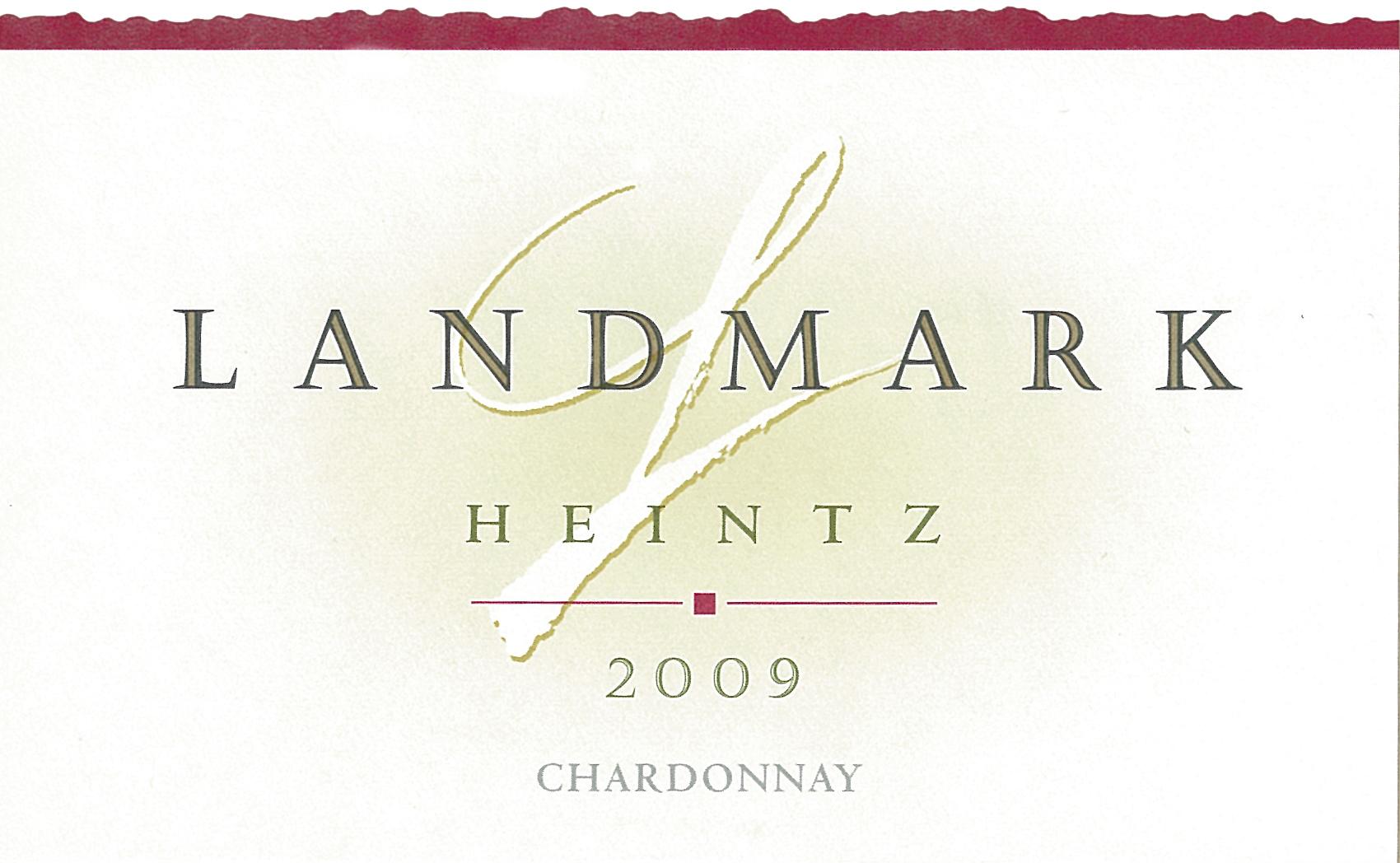 地标赫兹霞多丽干白Landmark Heintz Chardonnay