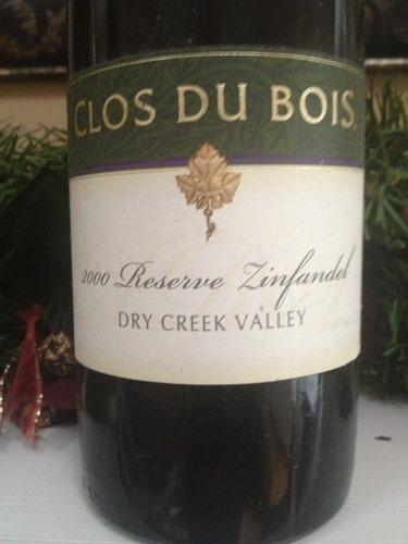 宝林酒堡干溪谷珍藏仙粉黛干红Clos du Bois Dry Creek Valley Reserve Zinfandel
