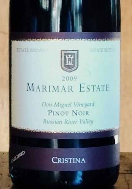 玛尔玛克里斯蒂娜黑皮诺干红Marimar Estate Cristina Pinot Noir