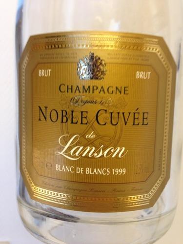 岚颂特酿白中白香槟Champagne Lanson Noble Cuvee Blanc de Blancs