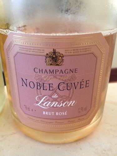 岚颂特酿干型桃红香槟Champagne Lanson Noble Cuvee Brut Rose