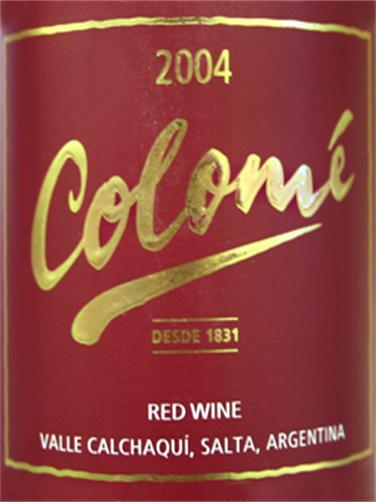 佳乐美酒庄干红Colome Red