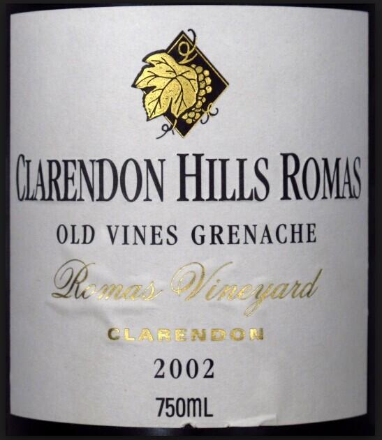 克拉伦敦山罗马斯园老藤歌海娜干红Clarendon Hills Romas Vineyard Old Vine Grenache