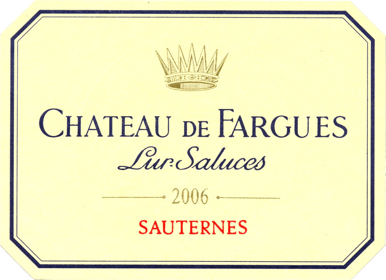 法歌酒庄甜白Chateau de Fargues