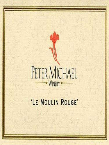 彼特麦克红磨坊黑皮诺干红Peter Michael Winery Le Moulin Rouge Pinot Noir