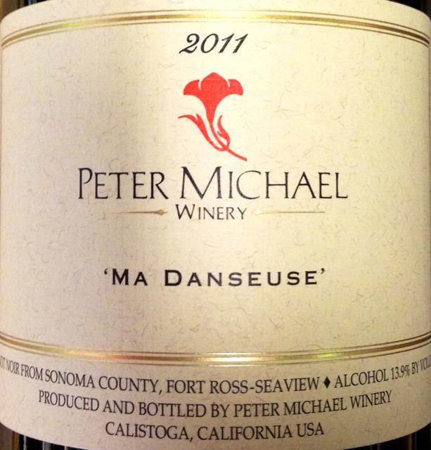 彼特麦克芭蕾女黑皮诺干红Peter Michael Winery Ma Danseuse Pinot Noir