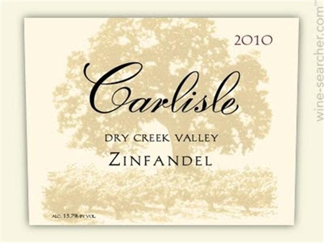 卡尔丽丝干溪谷仙粉黛干红Carlisle Dry Creek Valley Zinfandel