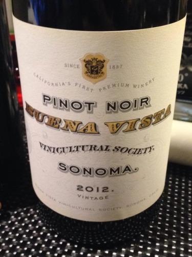 维斯塔社会黑皮诺干红Buena Vista Winery Vinicultural Society Pinot Noir
