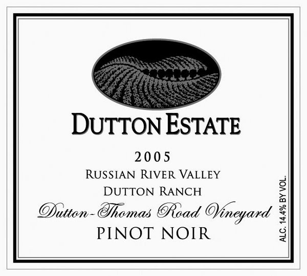 达顿托马斯黑皮诺干红Dutton Estate Thomas Road Pinot Noir