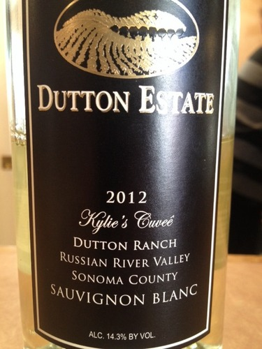 达顿凯莉特酿长相思干白Dutton Estate Dutton Ranch Kylie's Cuvee Sauvignon Blanc