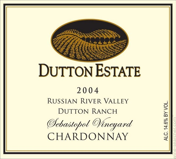 达顿达顿牧场霞多丽干白Dutton Estate Dutton Ranch Chardonnay