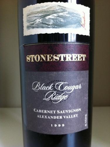 石街美洲狮岭赤霞珠干红Stonestreet black Cougar Ridge Cabernet Sauvignon