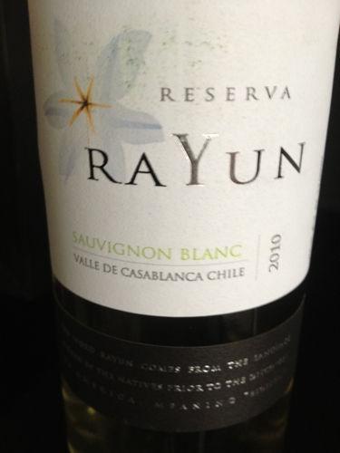 蕾韵珍藏长相思干白Rayun Reserva Sauvignon Blanc