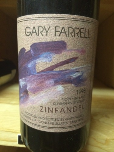 法雷尔里奇庄园仙粉黛干红Gary Farrell Ricci Vineyard Zinfandel