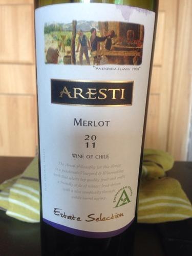 阿雷斯帝精选梅洛干红Aresti Estate Selection Merlot
