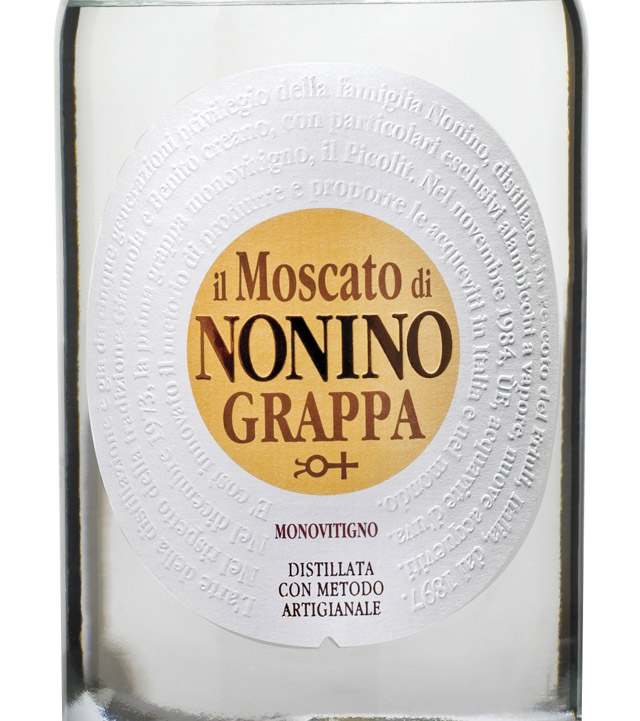 诺妮麝香渣酿白兰地Nonino Grappa IL Moscato