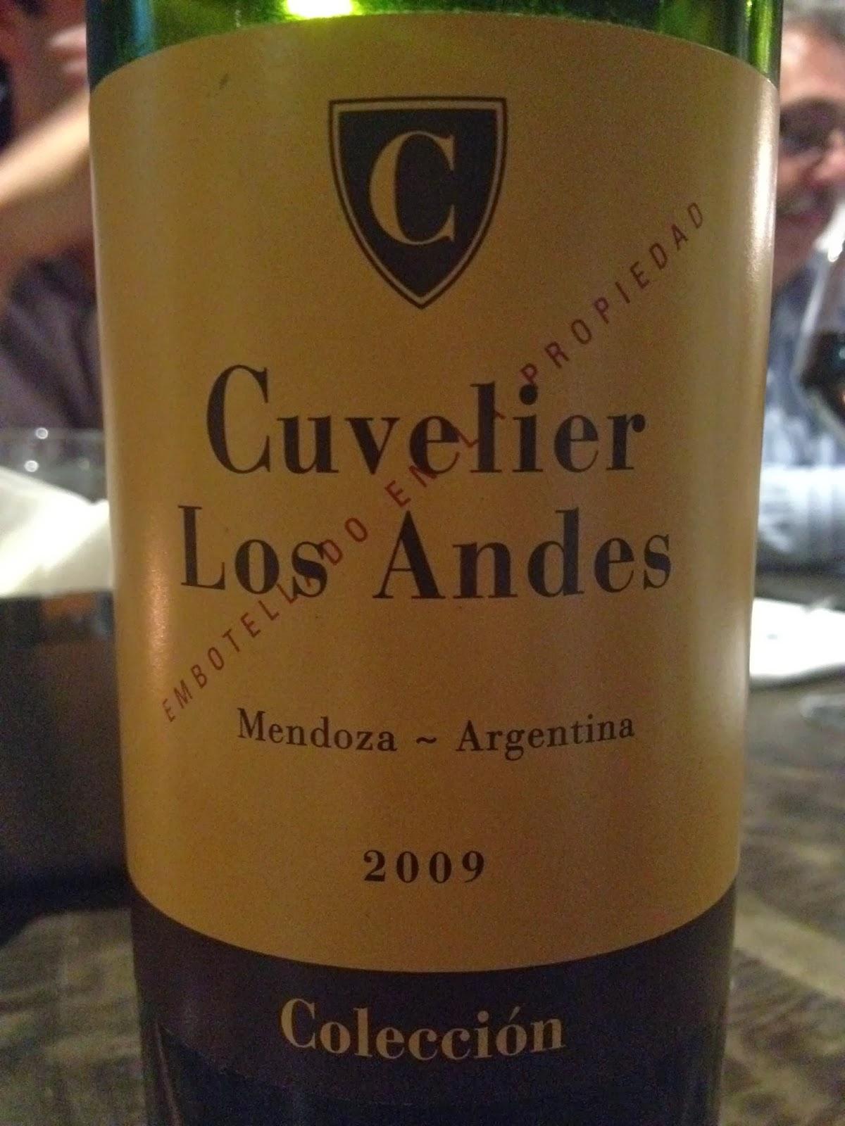库维利安第斯马尔贝克收藏干红Cuvelier Los Andes Coleccion Malbec