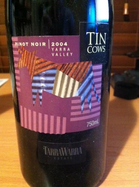 泰拉若拉奶牛黑皮诺干红TarraWarra Estate Tin Cows Pinot Noir