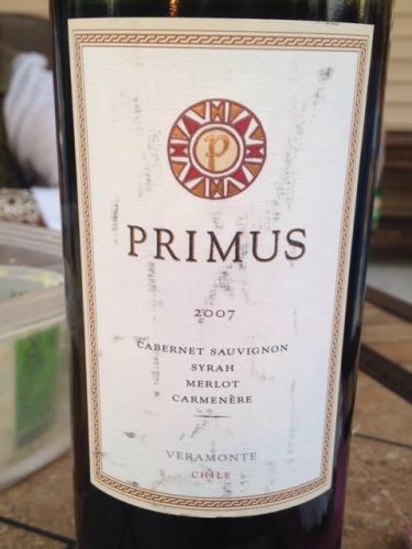 翠岭极品赤霞珠干红Veramonte Primus Cabernet Sauvignon