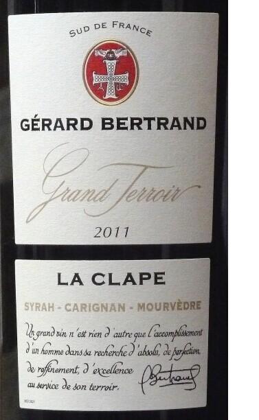 吉哈伯通伟大风土干红Gerard Bertrand Grand Terroir La Clape Red