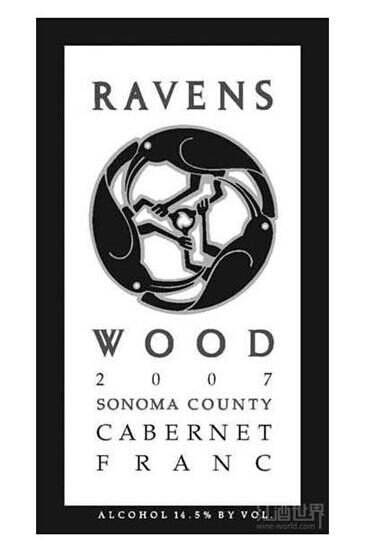 雷文斯伍德品丽珠干红Ravenswood Cabernet Franc