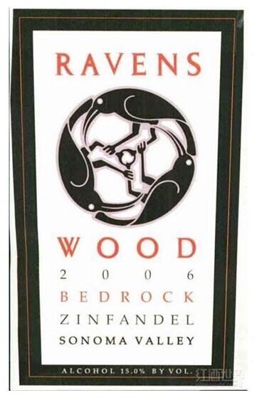 雷文斯伍德基岩仙粉黛干红(索诺玛县)Ravenswood Bedrock Zinfandel