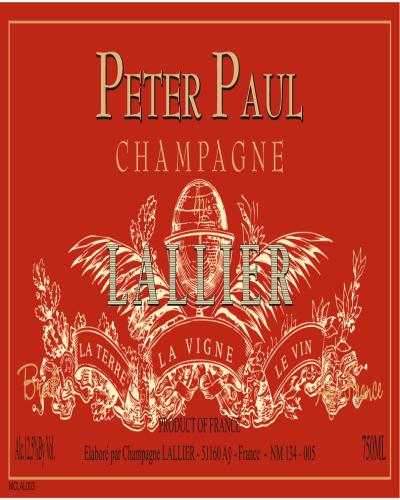 乐蕾酒庄鲁本斯香槟Lallier Peter Paul Champagne