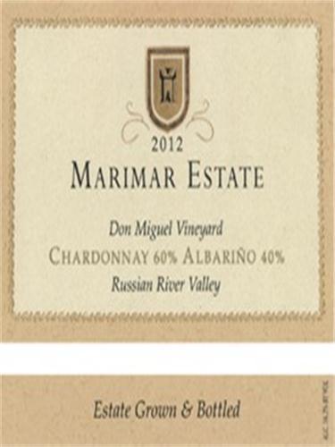 玛尔玛霞多丽-阿尔巴利诺干白Marimar Estate Chardonnay - Albarino