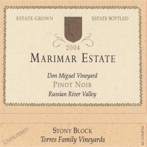 玛尔玛唐米格尔园多石区黑皮诺干红Marimar Estate Don Miguel Vineyard Stony Block Pinot Noir