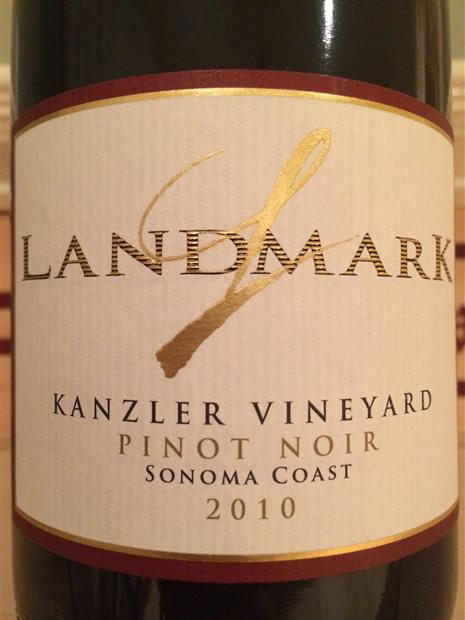 地标卡姿兰黑皮诺干红Landmark Vineyards Kanzler Pinot Noir