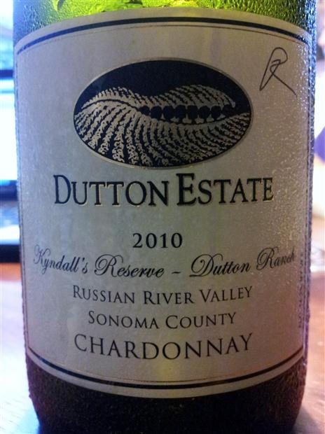 达顿兴达珍藏霞多丽干白Dutton Estate Dutton Ranch Kyndall's Reserve Chardonnay