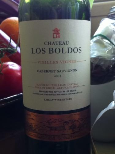 洛宝多老藤赤霞珠Chateau Los Boldos Vieilles Vignes Cabernet Sauvignon