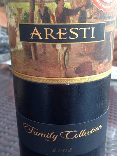 阿雷斯蒂家族珍藏赤霞珠干红(库里科谷)Aresti Family Collection Cabernet Sauvignon