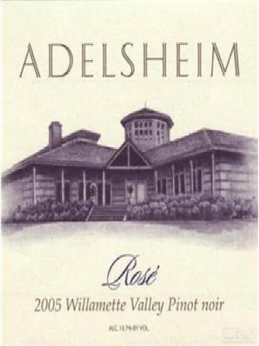 爱德森黑皮诺桃红Adelsheim Vineyard Pinot Noir Rose
