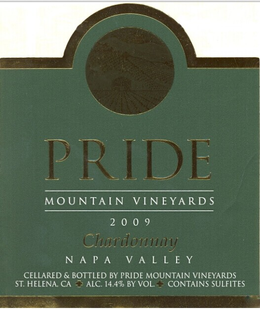 傲山霞多丽干白Pride Mountain Vineyards Chardonnay