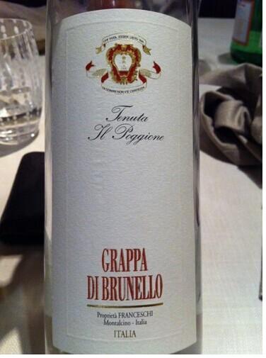 波吉欧布鲁奈罗渣酿白兰地Tenuta Il Poggione Grappa di Brunello