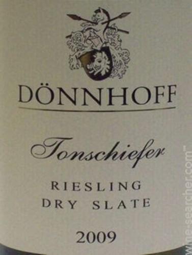杜荷夫奥伯豪塞雷斯登山板岩雷司令干白Weingut Donnhoff Oberhauser Leistenberg Tonschiefer Riesling Trocken