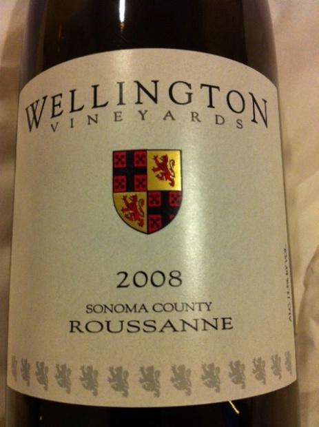 wellington roussanne (sonoma county)