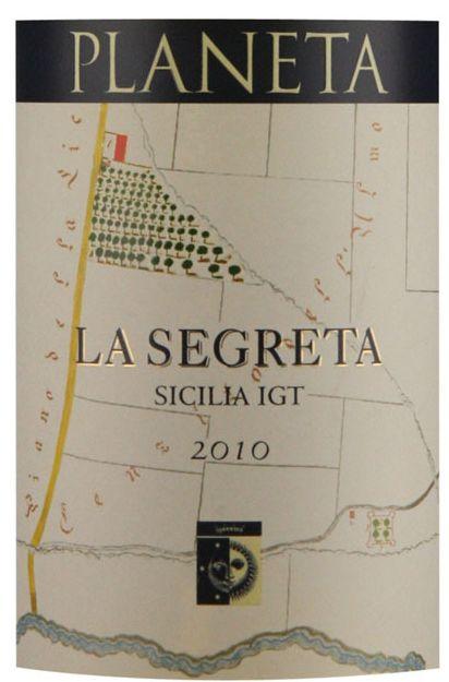 朴奈达酒庄西西里赛格丽特干白Planeta La Segreta Bianco Di Sicilia IGT