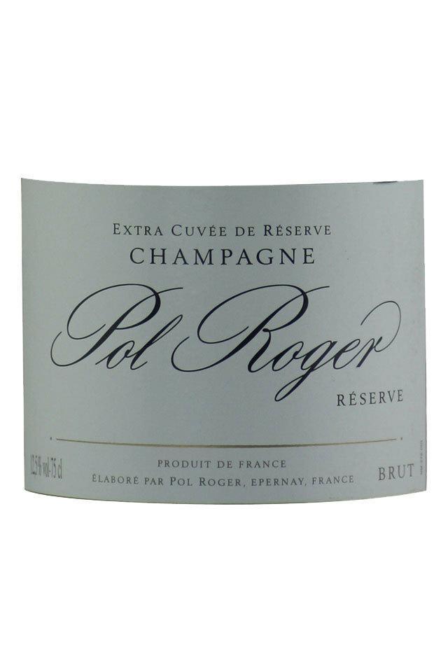 宝禄爵珍藏天然型香槟Champagne Pol Roger Researve Brut