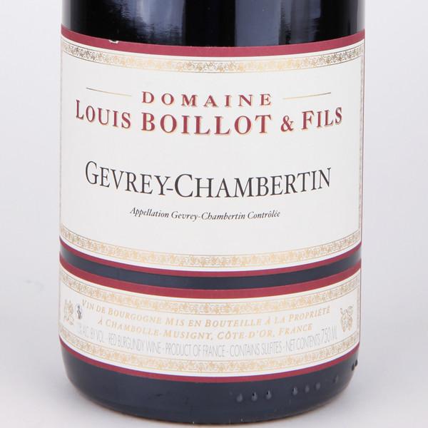 路易波悦热夫雷香贝天干红葡萄酒Domaine Louis Boillo t& Fils Gevrey-Chambertin