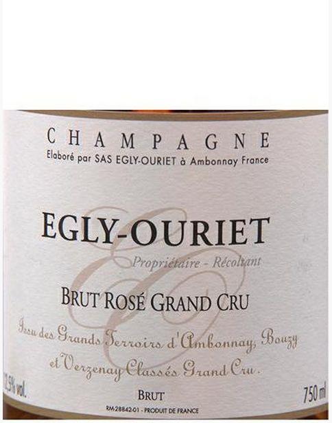 欧歌利屋也酒庄列级名庄干香槟Egly Ouriet Brut Rose Grand Cru