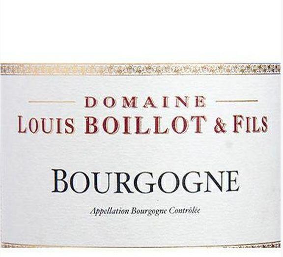路易斯伯奕乐庄园勃艮第干红Domaine Louis Boillot Bourgogne Rouge